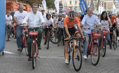 50.000 personas usan las bicicletas de Bilbao cada semana