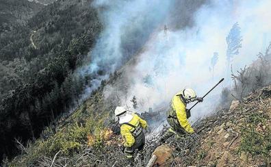La Diputación pone en alerta a 580 guardas y bomberos al crecer el riesgo de incendios