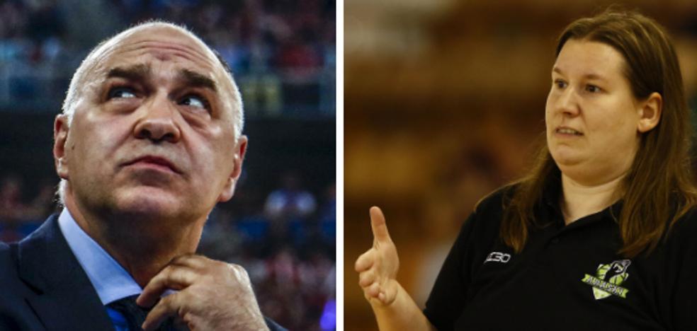 Los vitorianos Pablo Laso y Made Urieta, los mejores del año