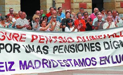 Los pensionistas convocan una manifestación comarcal para el 1 de octubre