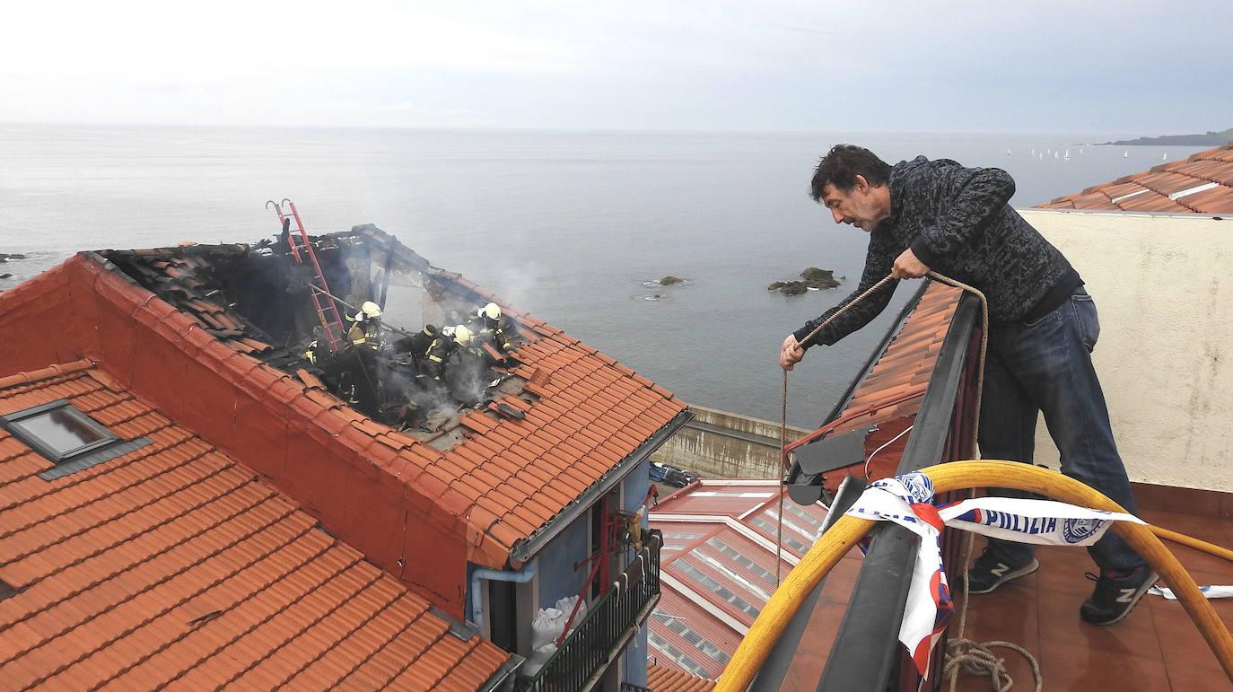 Bermeo enseña medidas de autoprotección contra el fuego