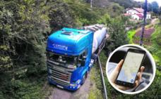 Cómo utilizar el GPS para no terminar atrapados como el camionero de Sondika