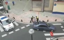 Detenido tras darse a la fuga sin carnet, a gran velocidad y en dirección contraria por varias calles de Bilbao