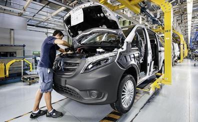 Mercedes mantiene la producción hasta final de año y aleja el fantasma del ERE