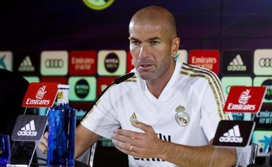 Zidane: «¿El Atlético, el equipo del pueblo? Aquí la gente trabaja mucho»