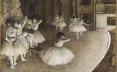 Degas va a la ópera