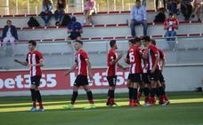 El Bilbao Athletic sigue goleando con un Sancet colosal
