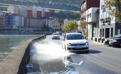 Bilbao supera sin problemas el primer día de mareas vivas