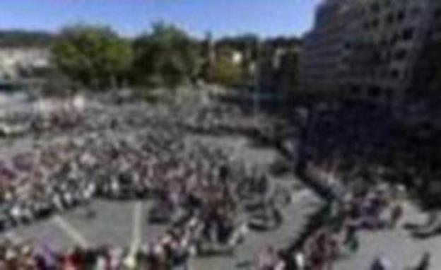 Miles de personas asisten a la manifestación del sector del metal