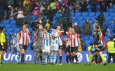El Reale Arena acogerá el derbi femenino entre Real y Athletic