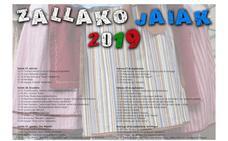 Programa de fiestas de Zalla 2019: San Miguel Jaiak