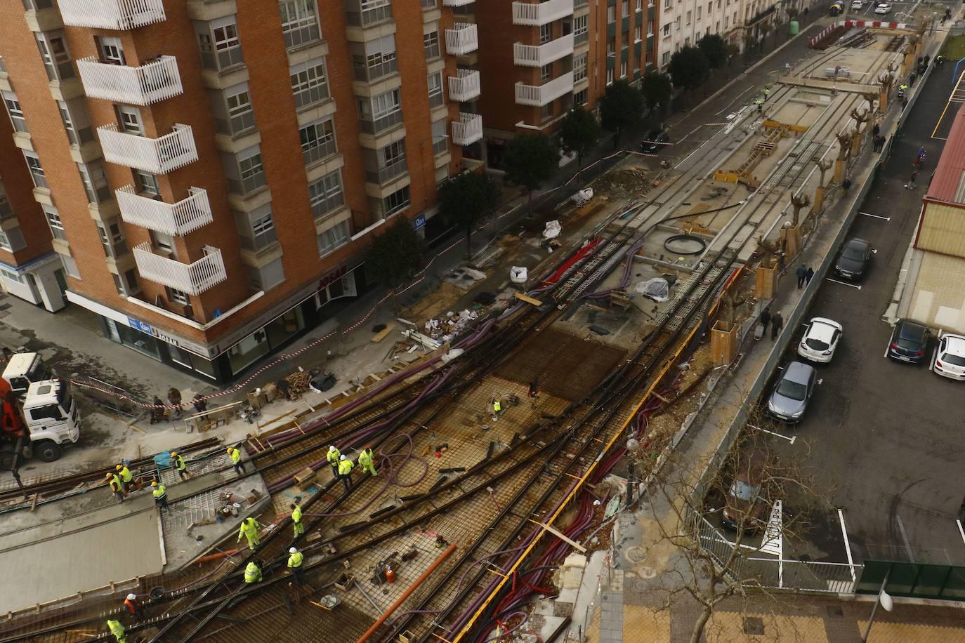 La plataforma 'Tranvía Sur No' insiste en su batalla judicial contra la ampliación del metro ligero