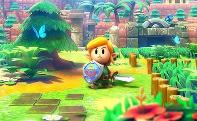 Link's Awakening: The Legend of Zelda a lo Twin Peaks