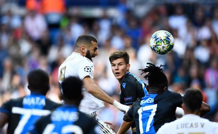 Las mejores imágenes del Real Madrid-Brujas