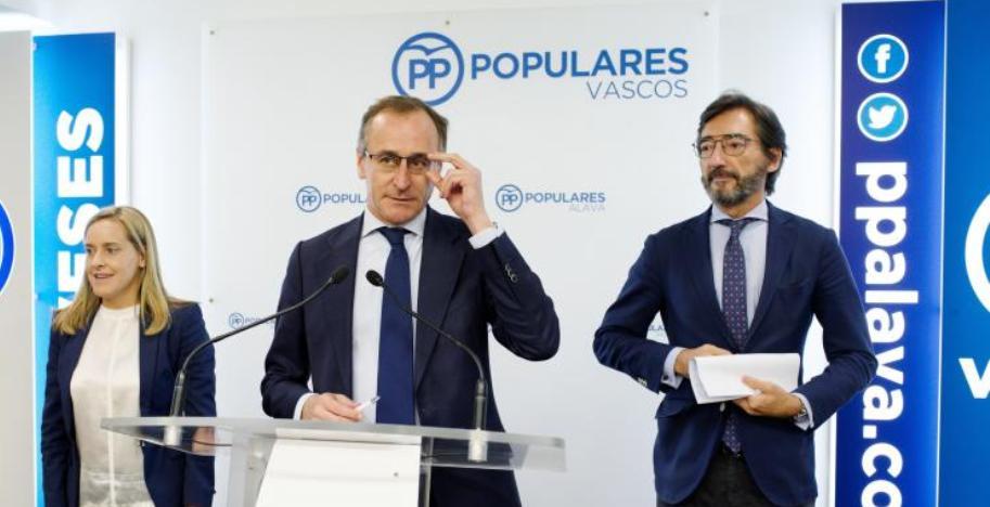 El PP reactiva el debate fiscal en Euskadi con una propuesta de bajada generalizada del IRPF