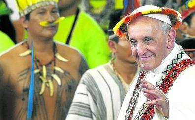 El Papa se 'amazoniza'