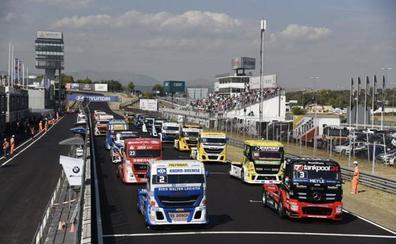 El Campeonato de Europa de Camiones se cierra en el Jarama