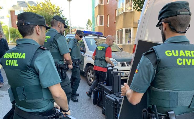 Así ha concluido la Policía Científica la inspección en el piso de Castro
