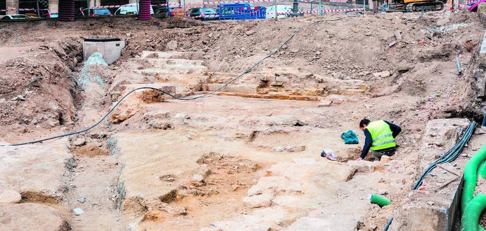 La necrópolis de San Francisco contiene esqueletos de veinte adultos y un niño