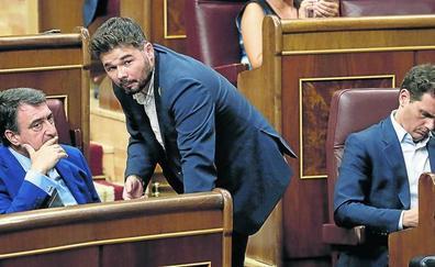 El PNV pide a las instituciones catalanas «contundencia» contra la violencia