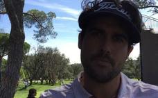 «Me he visto bien. Ha sido una buena vuelta», afirma el golfista vizcaíno Samu del Val