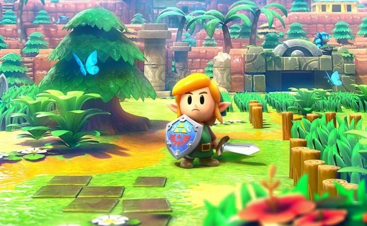 The Legend of Zelda: Link's Awakening deslumbra en Switch