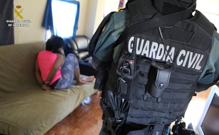 Así fue la detención de la pareja sospechosa del asesinato de un vecino de Getxo