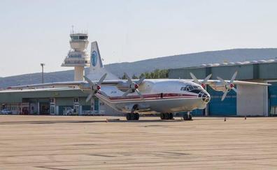 El avión siniestrado en Ucrania, con cinco fallecidos, era un modelo habitual en Foronda