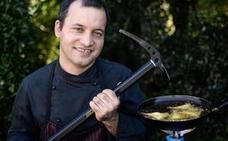 Un cocinero de altura