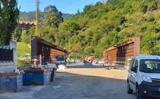 El Puente de la Baskonia se reabrirá al tráfico a principios de noviembre
