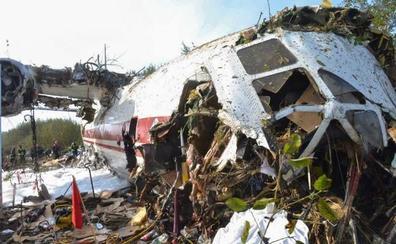 Cinco muertos en un aterrizaje forzoso en Ucrania de un avión de carga procedente de Vigo