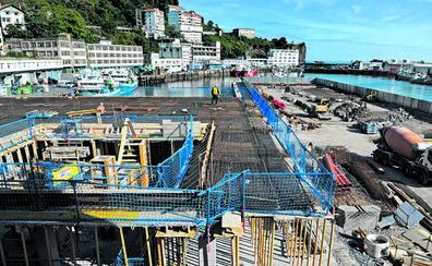 La nueva lonja de Ondarroa estará operativa para la costera del 2021