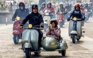 Las Vespas y Lambrettas toman Álava