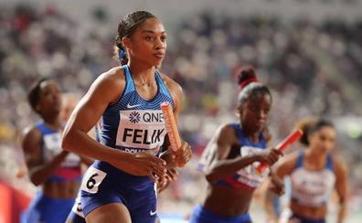 Allyson Felix, la madre y atleta que ha superado a Usain Bolt con 13 oros mundiales