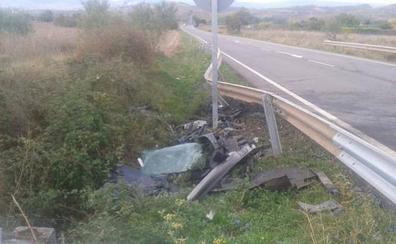 Fallecen dos vecinos de Cenicero, padre e hijo, en una colisión en la localidad riojana de Tricio