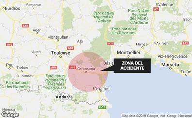 Un muerto y 17 heridos en un accidente de autobús entre Barcelona y Burdeos