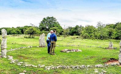 El Parque Megalítico de Legaire toma altura