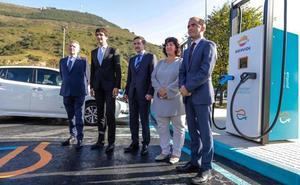 La electrolinera más potente de Europa funciona en Abanto