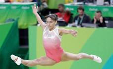 Una gimnasta sin límites: a sus 44 años irá a sus octavas Olimpiadas