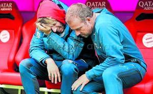 La tristeza de Javi Martínez en su momento más complicado con el Bayern