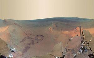 El agua en Marte se evaporó hace 3.500 millones de años