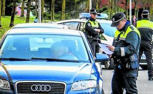 La Policía caza en Vitoria a más de un conductor sin carné cada tres días, un 20% más que el año pasado