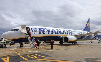 Ryanair estrenará una ruta que conectará Vitoria con Málaga desde abril