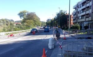 Reforma «insegura» para el peatón en la avenida de Los Chopos