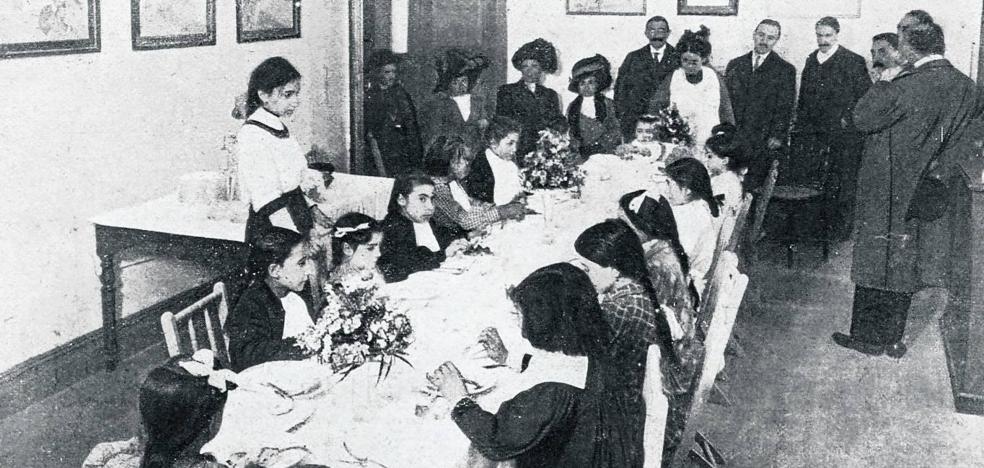 Adelina, la maestra olvidada de Bilbao