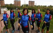 Arantxa Pinedo: «Hay pocos deportes tan completos como la marcha nórdica»