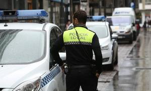 Detenido por agredir a su pareja en una vivienda del Casco Viejo de Vitoria