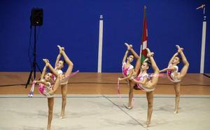 Oro para el infantil absoluto de Sakoneta en el Campeonato de Euskadi por conjuntos
