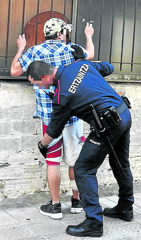 24 arrestados el fin de semana ponen a prueba el centro de detención de Bilbao