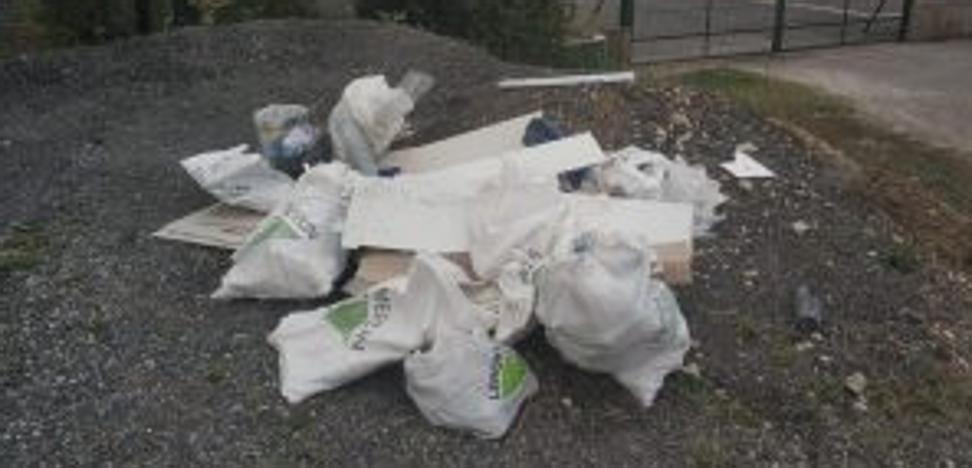 Denunciado por depositar residuos de obra en un vertedero ilegal en Askartza